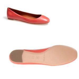 Via Spiga 'Lilac' Leather Ballerina Flat 8